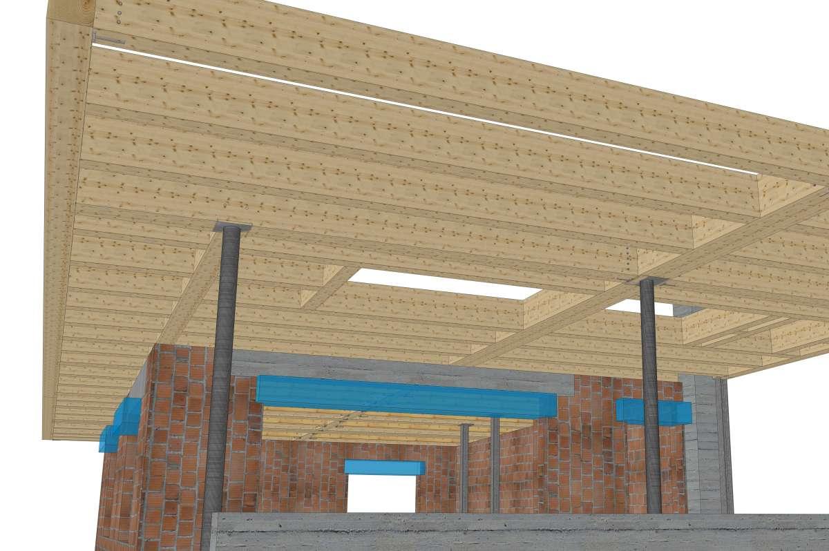 Nuova costruzione di una casa a schiera san candido bauplan misurare progettare - Costruzione di una casa ...
